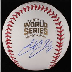 Hector Rondon Signed World Series Baseball (JSA COA)