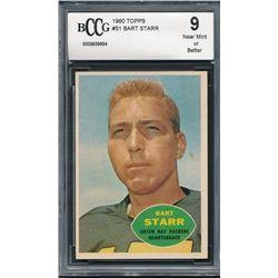 1960 Topps #51 Bart Starr (BCCG 9)