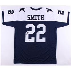 Emmitt Smith Signed Cowboys Jersey (Beckett COA)
