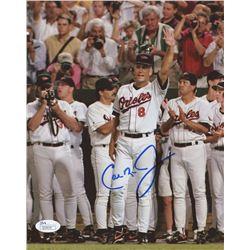 Cal Ripken Jr. Signed Orioles 8x10 Photo (JSA COA)