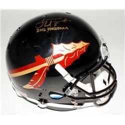 "Jameis Winston Signed Florida State Seminoles Full-Size Authentic Helmet Inscribed ""2013 Heisman"" (J"