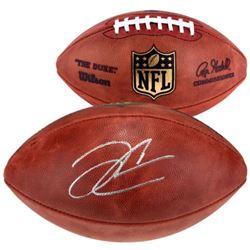 Derek Carr Signed NFL Game Ball Football (Fanatics Hologram)