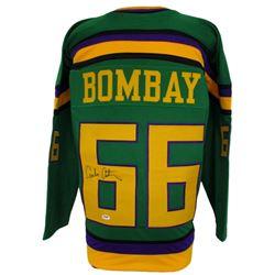 "Emilio Estevez Signed The Mighty Ducks ""Bombay"" Jersey (PSA COA)"