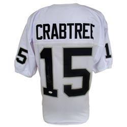 Michael Crabtree Signed Raiders Pro-Style Jersey (JSA COA)