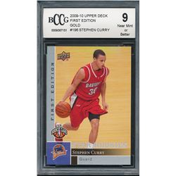 2009-10 Upper Deck First Edition Gold #196 Stephen Curry (BCCG 9)
