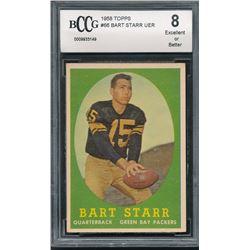 1958 Topps #66 Bart Starr (BCCG 8)