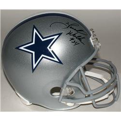 Herschel Walker Signed Cowboys Full Size Helmet (JSA COA)