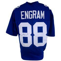 Evan Engram Signed Giants Pro-Style Jersey (JSA COA)