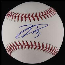 Joc Pederson Signed OML Baseball (MLB Hologram)