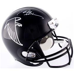 Deion Sanders Signed Falcons Full-Size Helmet (JSA COA)