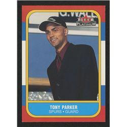 2001-02 Fleer Platinum #243 Tony Parker RC