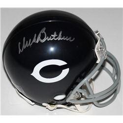 Dick Butkus Signed Bears Throwback Mini-Helmet (Schwartz COA)