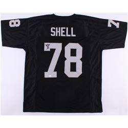 """Art Shell Signed Raiders Jersey Inscribed """"HOF 89"""" (JSA COA)"""