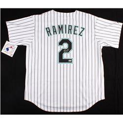 Hanley Ramirez Signed Marlins Jersey (Hollywood Collectibles COA)