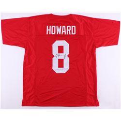 Jordan Howard Signed Indiana Hoosiers Jersey (JSA COA)