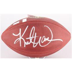 """Kurt Warner Signed """"The Duke"""" Official NFL Game Ball (Radtke COA)"""