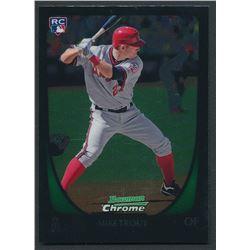 2011 Bowman Chrome Draft #101 Mike Trout RC