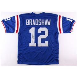 Terry Bradshaw Signed Louisiana Tech Bulldogs Jersey (JSA COA)