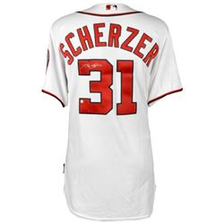 Max Scherzer Signed Nationals Jersey (MLB  Fanatics)