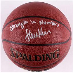 "Steve Kerr Signed Spalding Basketball ""Strength In Numbers"" (Schwartz COA)"