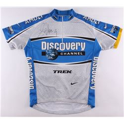 Lance Armstrong Signed Nike Discovery Channel Cycling Jersey (Schwartz COA)