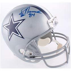 Jay Novacek Signed Cowboys Full-Size Helmet (JSA COA  Radtke COA)