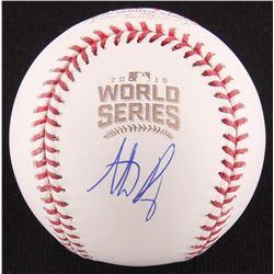 Anthony Rizzo Signed 2016 World Series Baseball (MLB  Fanatics Hologram)