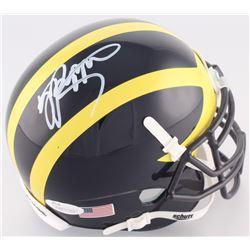 Jabrill Peppers Signed Michigan Wolverines Mini Helmet (JSA Hologram)