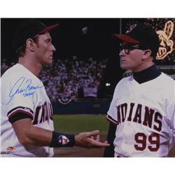"Corbin Bernsen Signed ""Major League"" 16x20 Photo Inscribed ""Dorn"" (MAB Hologram)"