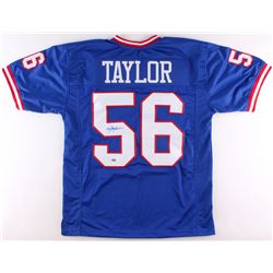 Lawrence Taylor Signed Giants Jersey (Schwartz COA)