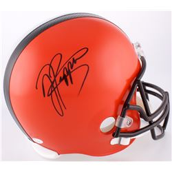 Jabrill Peppers Signed Browns Full-Size Helmet (JSA COA)