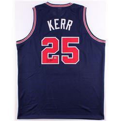 Steve Kerr Signed Arizona Wildcats Jersey (Schwartz COA)