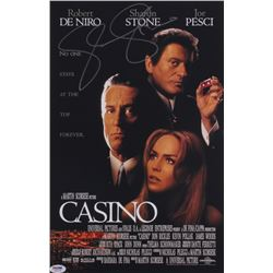 "Sharon Stone Signed ""Casino"" 11x17 Movie Poster (PSA COA)"