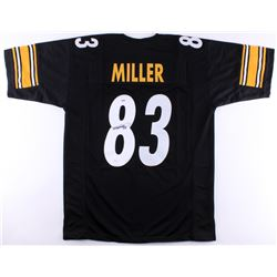 Heath Miller Signed Steelers Jersey (JSA COA  PSA COA)