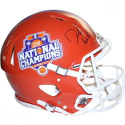 Deshaun Watson Signed Clemson Tigers 2016 National Champions Full-Size Authentic Pro-Line Speed Helm