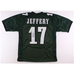 Alshon Jeffery Signed Eagles Jersey (JSA COA)