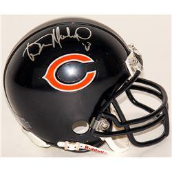 Wilber Marshall Signed Bears Speed Mini-Helmet (Schwartz COA)