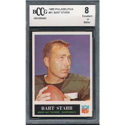 1965 Philadelphia #81 Bart Starr (BCCG 8)