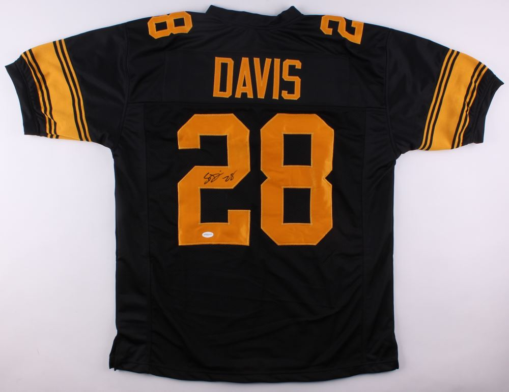 low priced 5000d ea7a4 Sean Davis Bell Signed Steelers Color Rush Jersey (TSE COA)
