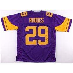 Xavier Rhodes Signed Vikings Color Rush Jersey (JSA COA)