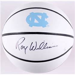 Roy Williams Signed North Carolina Tar Heels Logo Basketball (Steiner COA)