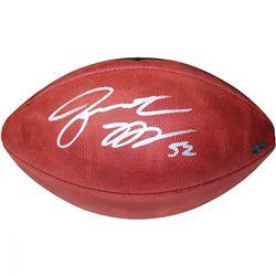 Jon Beason Signed NFL Football (Steiner COA)