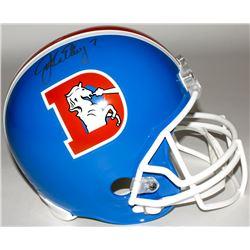 John Elway Signed Broncos Throwback Full-Size Helmet (Elway Hologram)