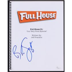 "Bob Saget Signed ""Full House: Our Very First Episode"" Full Episode Script (JSA COA)"
