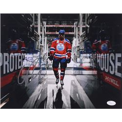 Connor McDavid Signed Oilers 11x14 Photo (JSA COA)