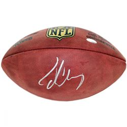 "Jadeveon Clowney Signed NFL ""The Duke"" Football (Steiner COA)"