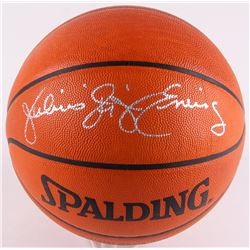 "Julius ""Dr. J"" Erving Signed NBA Game Ball Series Basketball (JSA COA)"