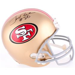 Jerry Rice Signed 49ers Full Size Helmet (Rice Hologram)