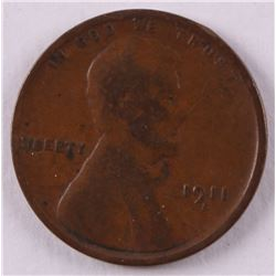 1911-S Wheat Cent Penny
