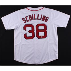 Curt Schilling Signed Red Sox Jersey (JSA COA)